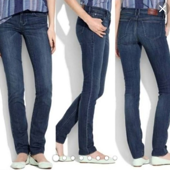 Madewell Denim - Madewell Rail Straight jeans
